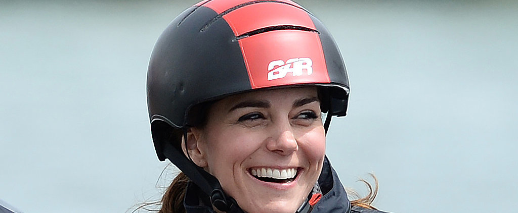 Watch Kate Middleton Battle the Waves With Ease While Sailing in England