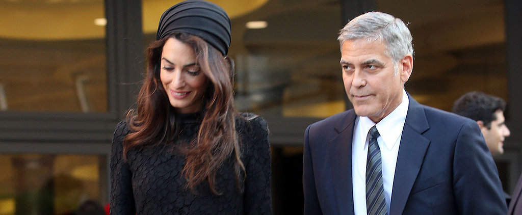 Amal Clooney Just Confirmed That Your LBD Is Always a Good Idea