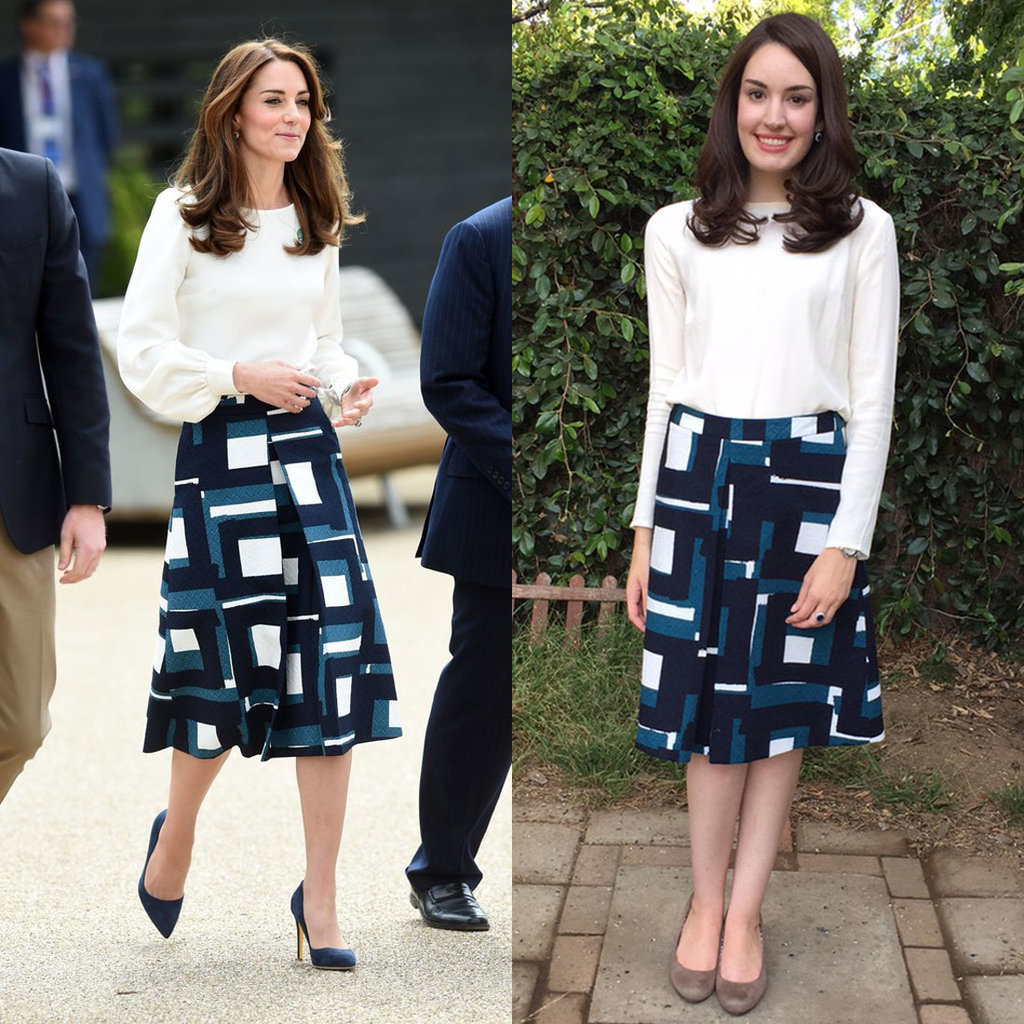 Kate Middleton's Banana Republic Skirt