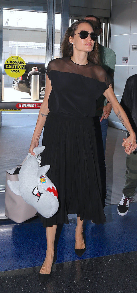 Along With Her Flats, It Was the Modest Alternative to the LBD