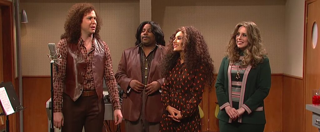 Ariana Grande Is a Supportive Friend in This Ridiculous Cut SNL Sketch