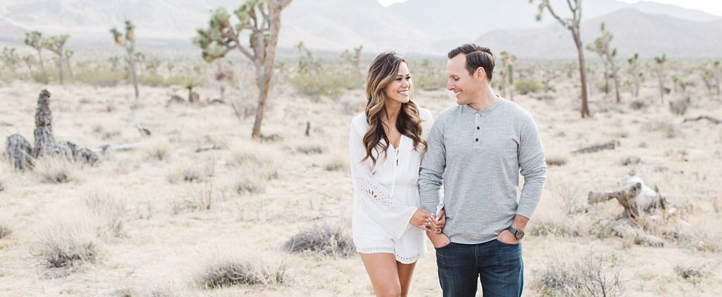 The Mojave Desert Makes the MOST Romantic Setting For This Engagement Shoot