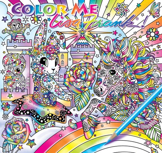 Lisa Frank Adult Colouring Book