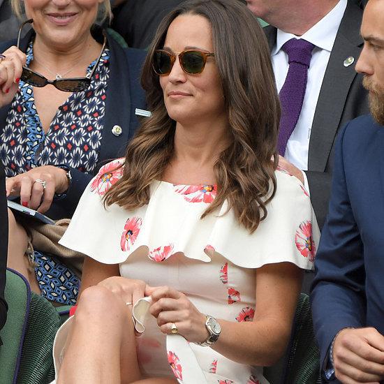 Pippa Middleton's Floral Dress at Wimbledon 2016