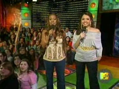 Sophia Bush,Hilarie Burton and Tyler Hilton visit MTV