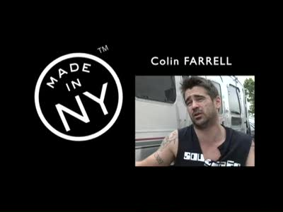 Colin Farrell: On Set in NYC