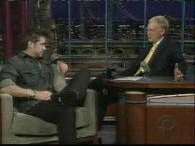 Colin on Letterman: Part2