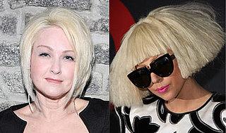 Lady Gaga and Cyndi Lauper Become Viva Glam Women
