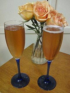St Germain Pomegranate Sparkling Wine Cocktail