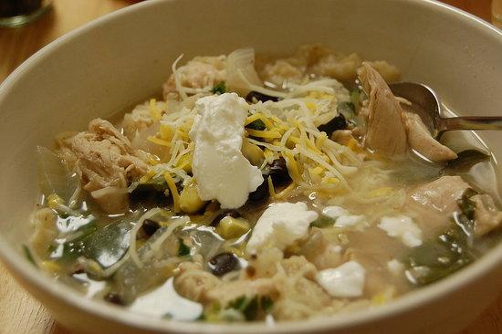 Easy Recipe For Black Bean Chicken Tortilla Soup