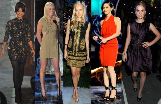 Who Do You Think Was Best Dressed at the Spike Scream Awards?
