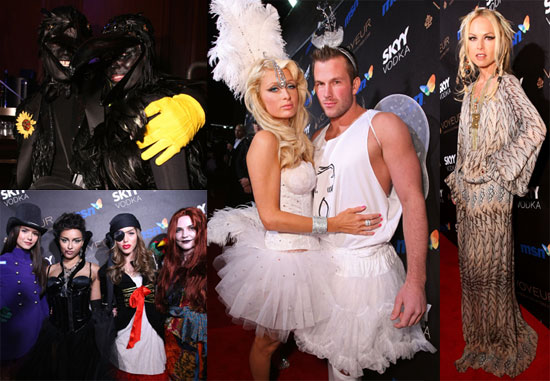 Heidi Klum and Seal Come Out as Crows For Halloween Fun