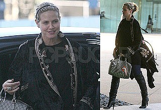 Photos of Heidi Klum Out After Giving Birth to Daughter Lou