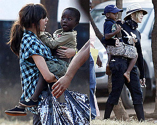 Photos of Madonna and Lourdes in Malawi 2009-10-27 16:16:40