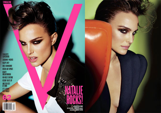 Photos of Natalie Portman in V Magazine 2009-11-04 10:08:35