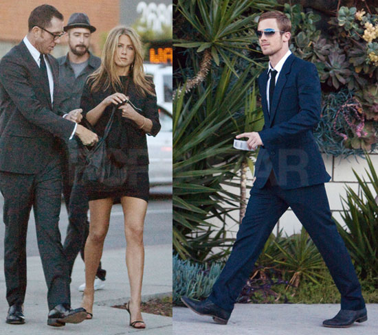 Photos of Jennifer Aniston and Cam Gigandet at His Sister Kelsie's Wedding in LA