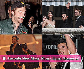 PopSugar's Complete Coverage of the New Moon Promotional Tour With Robert Pattinson and Kristen Stewart