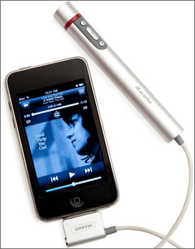 The iKaraoke Accessory For the iPhone
