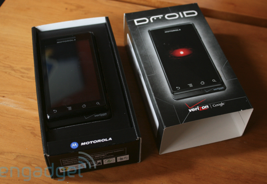Daily Tech: Motorola Unveils DROID, Coming Nov. 6