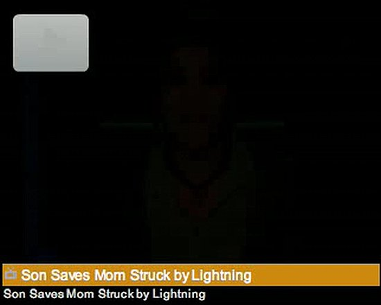 Kid Calls 911 After Mom Is Stuck By Lightening