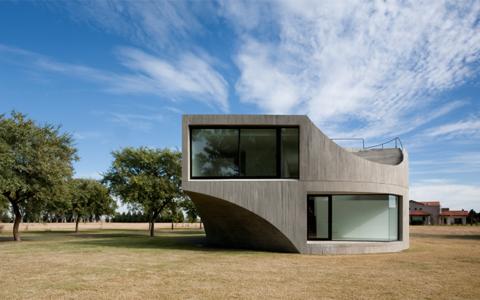 Love It or Hate It? Curvy Concrete House