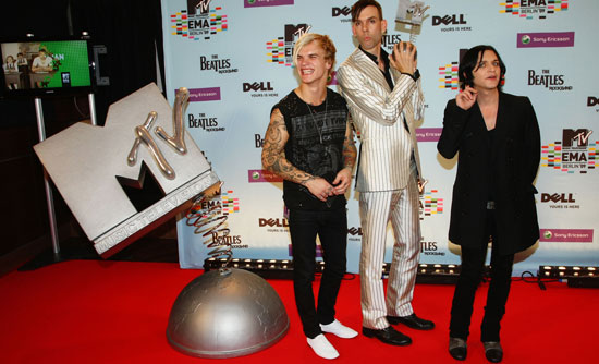 Photos from the Press Room at the MTV EMAs 2009