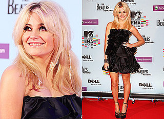 Photos of Pixie Lott Arriving at the MTV EMA Awards 2009