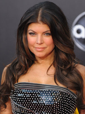 Fergie at the 2009 American Music Awards