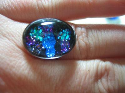Nail Polish Rings — Oval ($13)