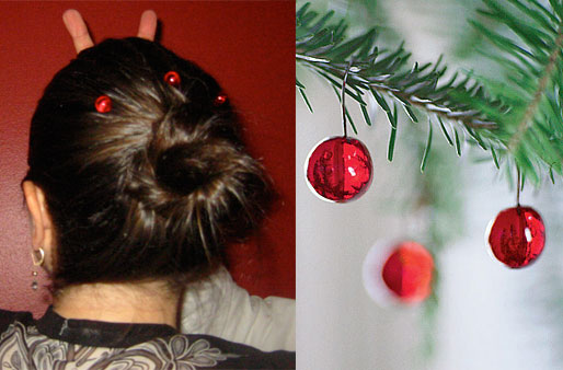 Would You Wear Ornaments in Your Hair?