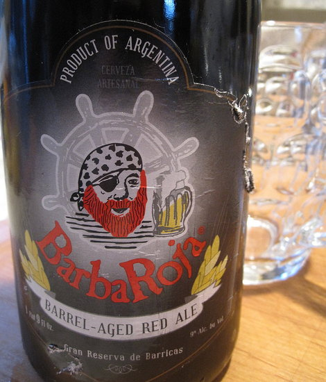 Review of BarbaRoja Barrel-Aged Red Ale