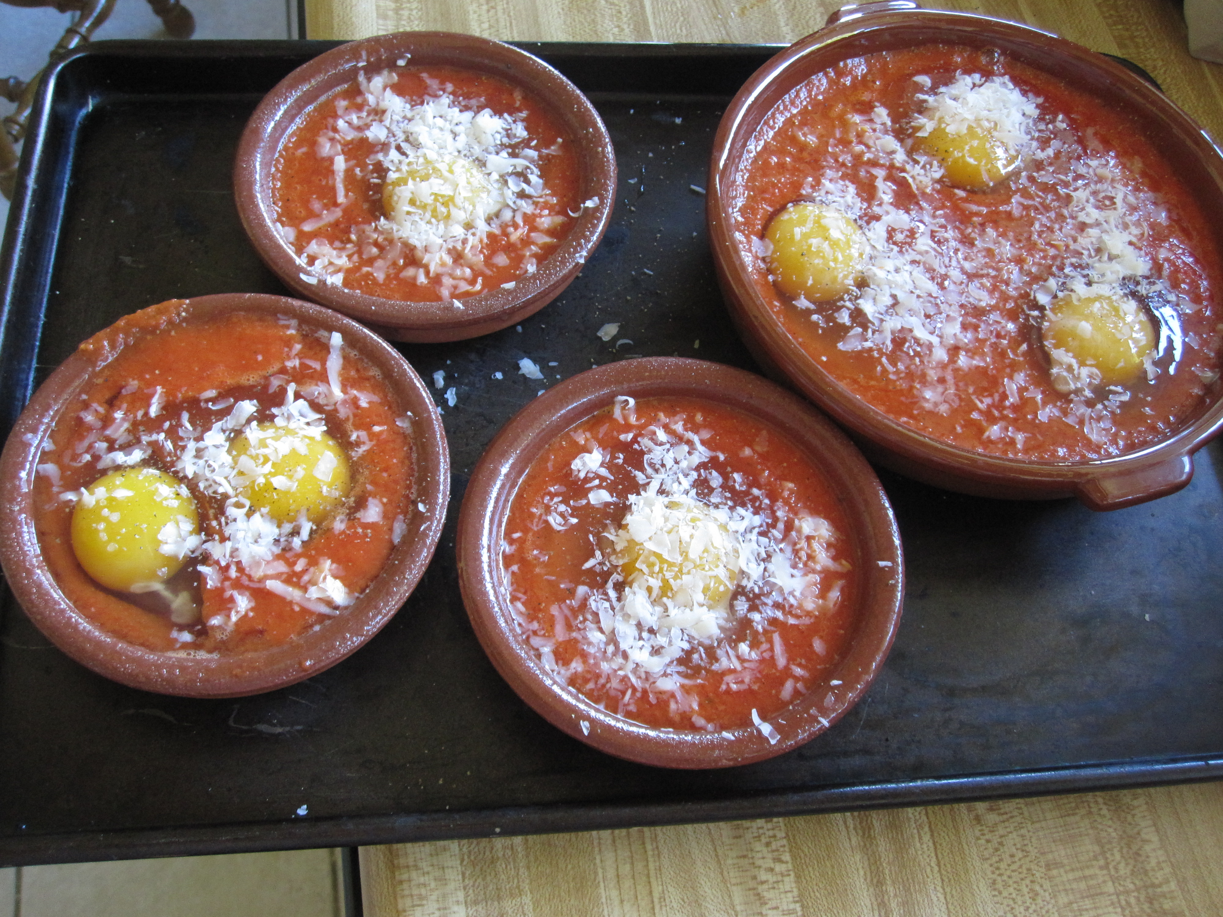 starts eggs in purgatory yumsugar recipes tomato sauce baked eggs ...
