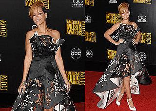 Photos of Rihanna on American Music Awards Red Carpet 2009-11-22 18:06:36
