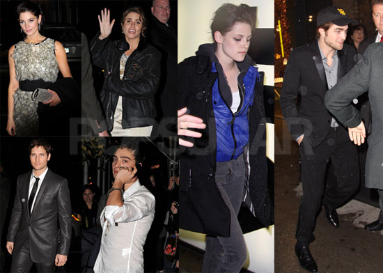 Photos of Robert  Pattinson, Kristen Stewart, and More at a New Moon Afterparty in NYC