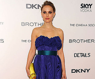 Slide Photo of Natalie Portman at Brothers Screening in NYC