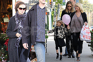 Photos of Heidi Klum in LA With Leni and Erna; No