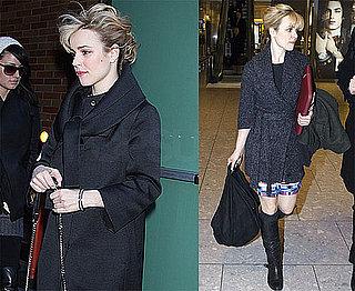 Photos of Rachel McAdams Arriving at JFK and GMA