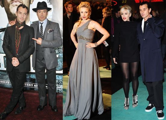Photos From the London Premiere of Sherlock Holmes With Jude Law, Rachel McAdams, and Robert Downey Jr
