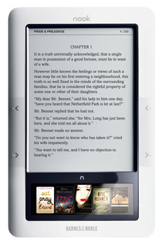 The Barnes and Noble Nook Launches at the End of November and I Want One