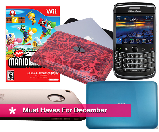 GeekSugar's Must Have Gadgets and Accessories For December!