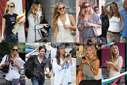 Who Is Your Favorite BlackBerry Obsessed Celeb of 2009?