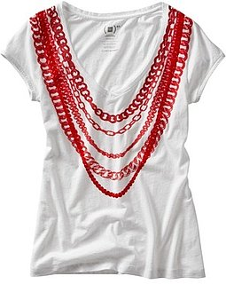 Photo of Stella McCartney For Gap (Product) RED Chain Tee