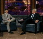 Twilight's Taylor Lautner Talks About Moms on the Jay Leno Show