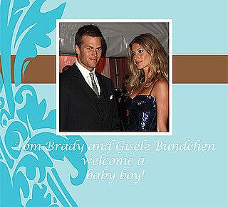 Tom Brady and Gisele Bündchen Have a Baby Boy!