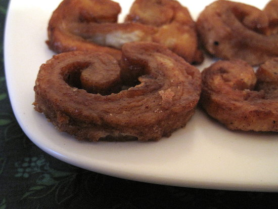 Ditch the Gingerbread Men in Favor of Gingersnap Palmiers