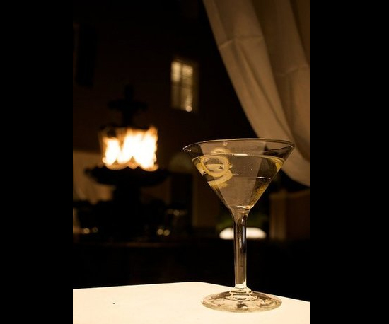 6. Martini by Firelight
