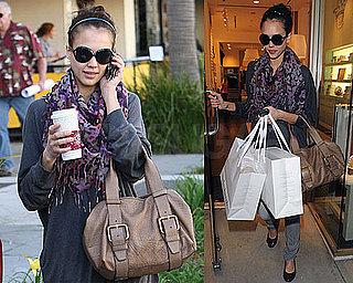 Photos of Jessica Alba Shopping in LA