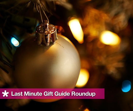 Last Minute Gift Lists on GeekSugar