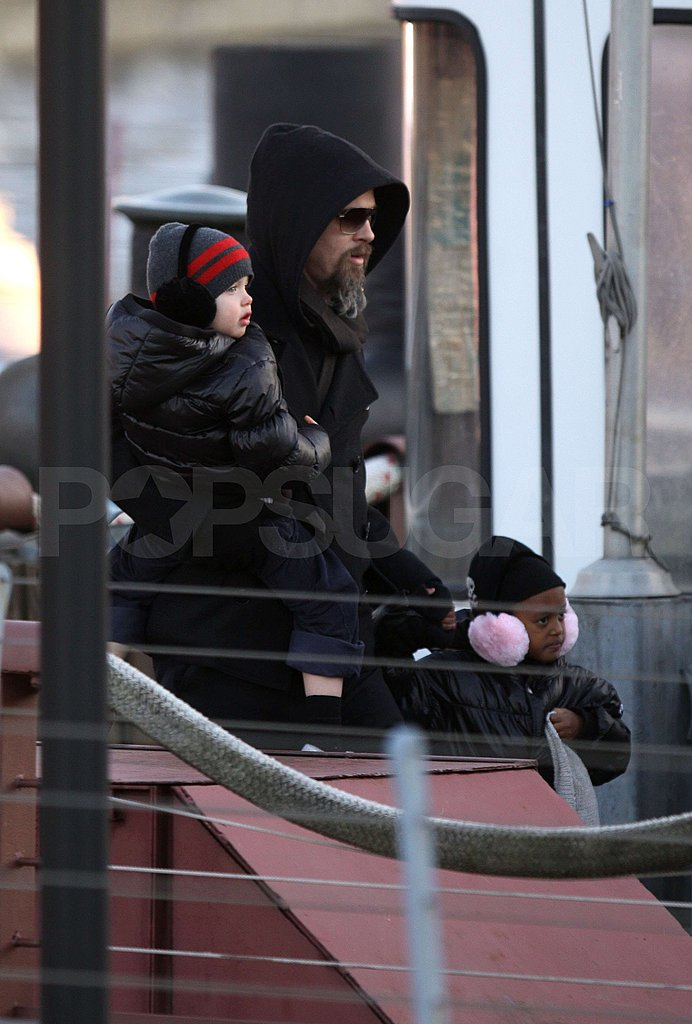 Photos of Brad, Angie and Kids