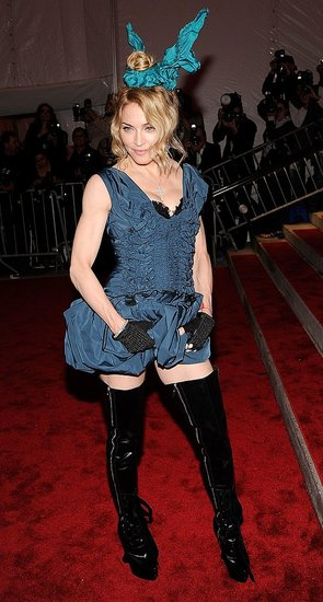 Madonna at Met Costume Institute Gala